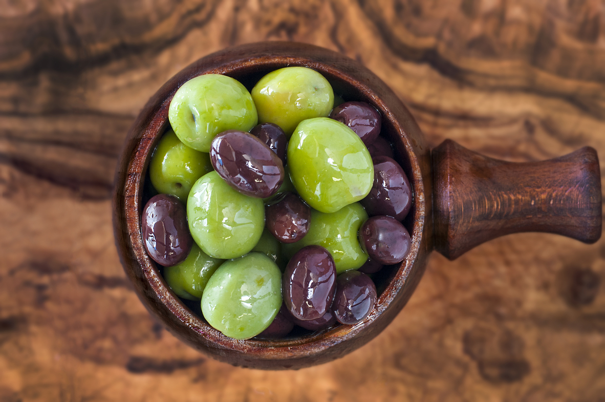 Mixed Italian and Spanish Olives